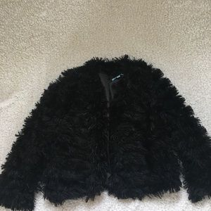 Jackets & Blazers - Cute faux fur jacket.